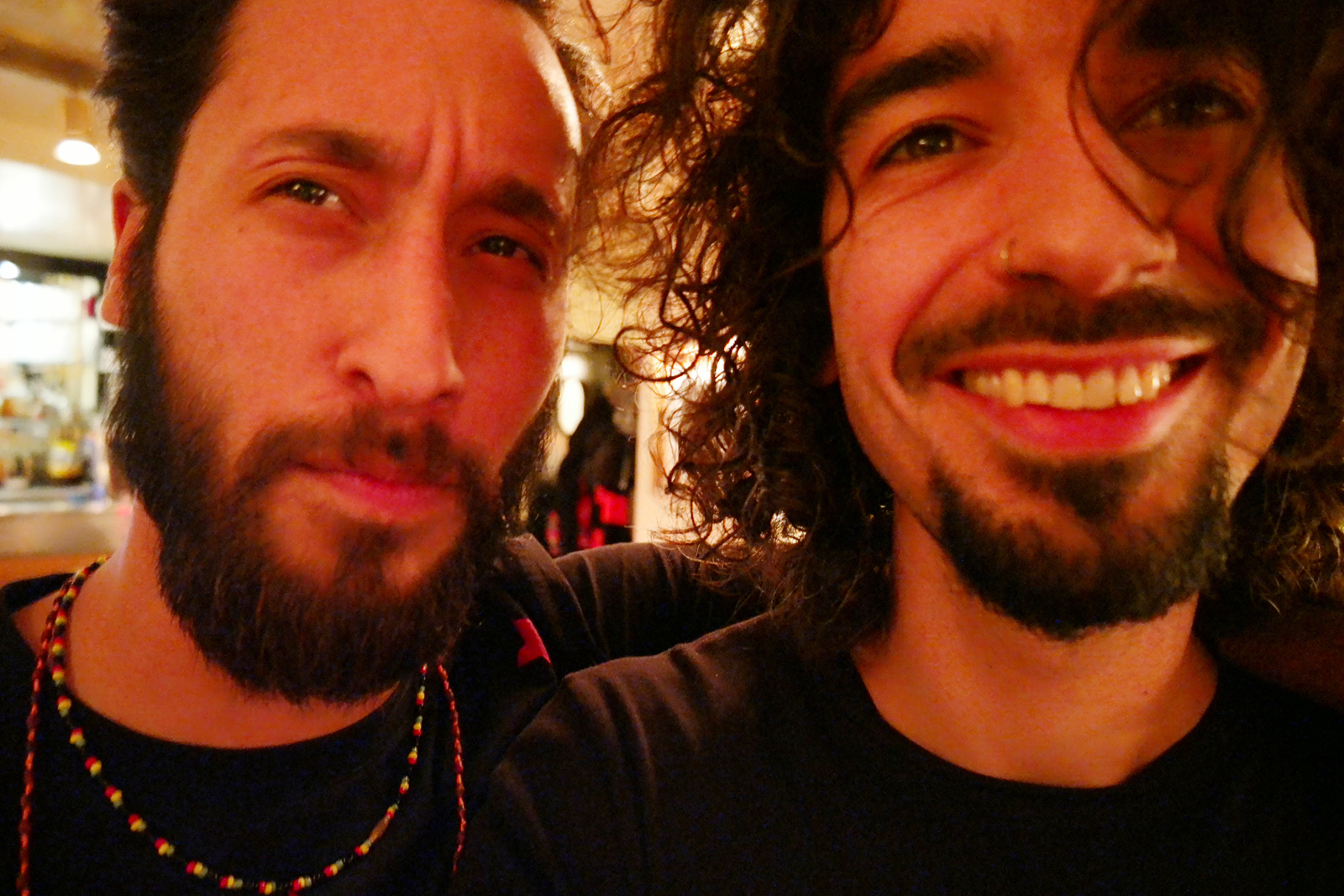 Selfie original exclu UsofParis d'Octavio et Raphaël
