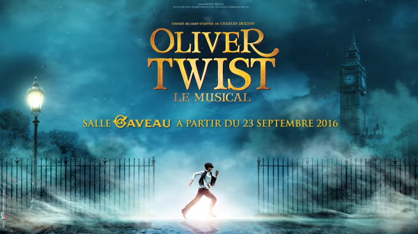 Ladislas Chollat & Nicolas Motet selfie-interview pour Oliver Twist, le musical