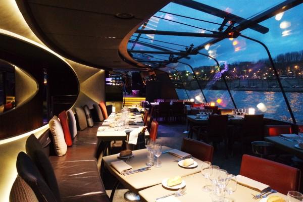 Bateaux parisiens avis critique croisière port bourdonnais menu seine photo by Blog United States of Paris