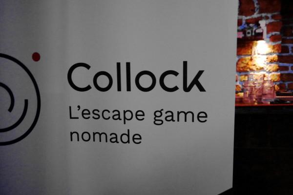 Collock escape game nomade éphémère cluedo enigme jeu interactif séminaire convention entreprise sacré graal Photo By Blog United States of Paris
