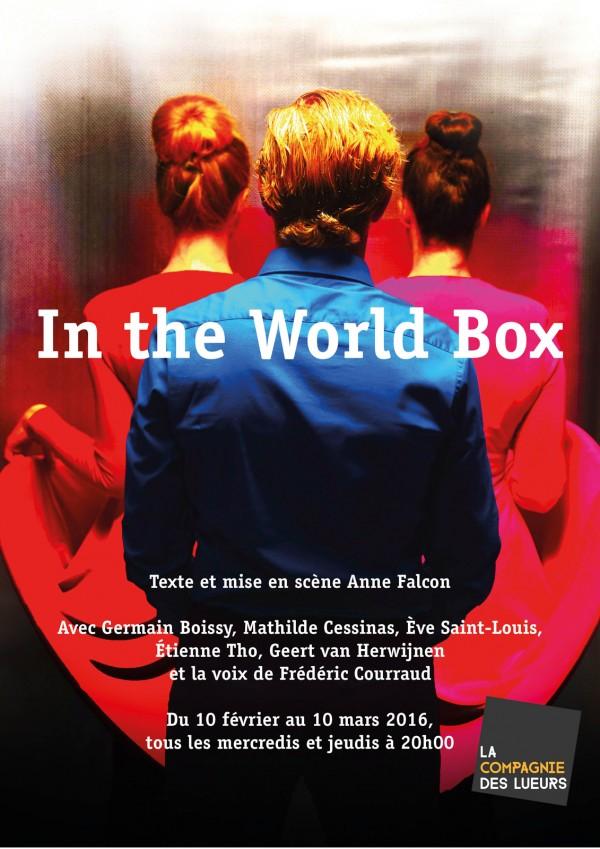In the world box théâtre aktéon spectacle avis critique Anne Falcon blog United States of Paris
