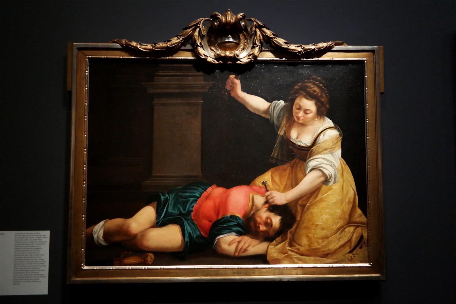 Yaël et Sisera, Artemisia Gentileschi, 1620
