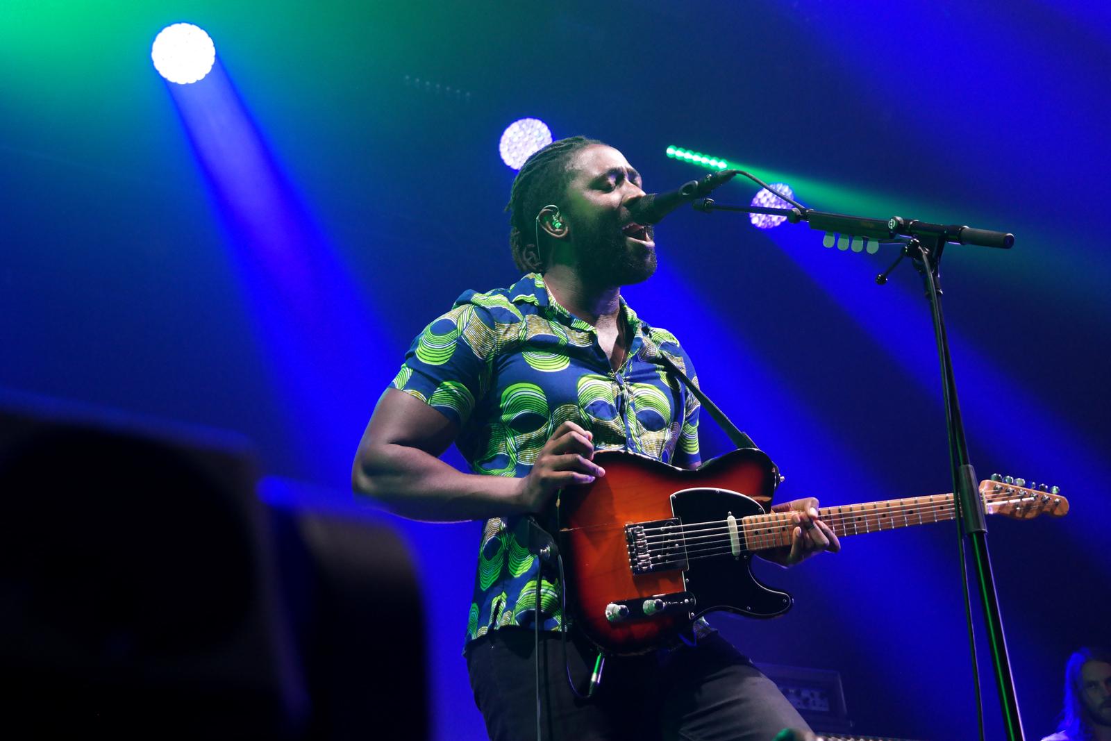 Bloc Party live concert Kele Okereke Printemps de Bourges 2016 Hymns tour album stage photo usofparis blog