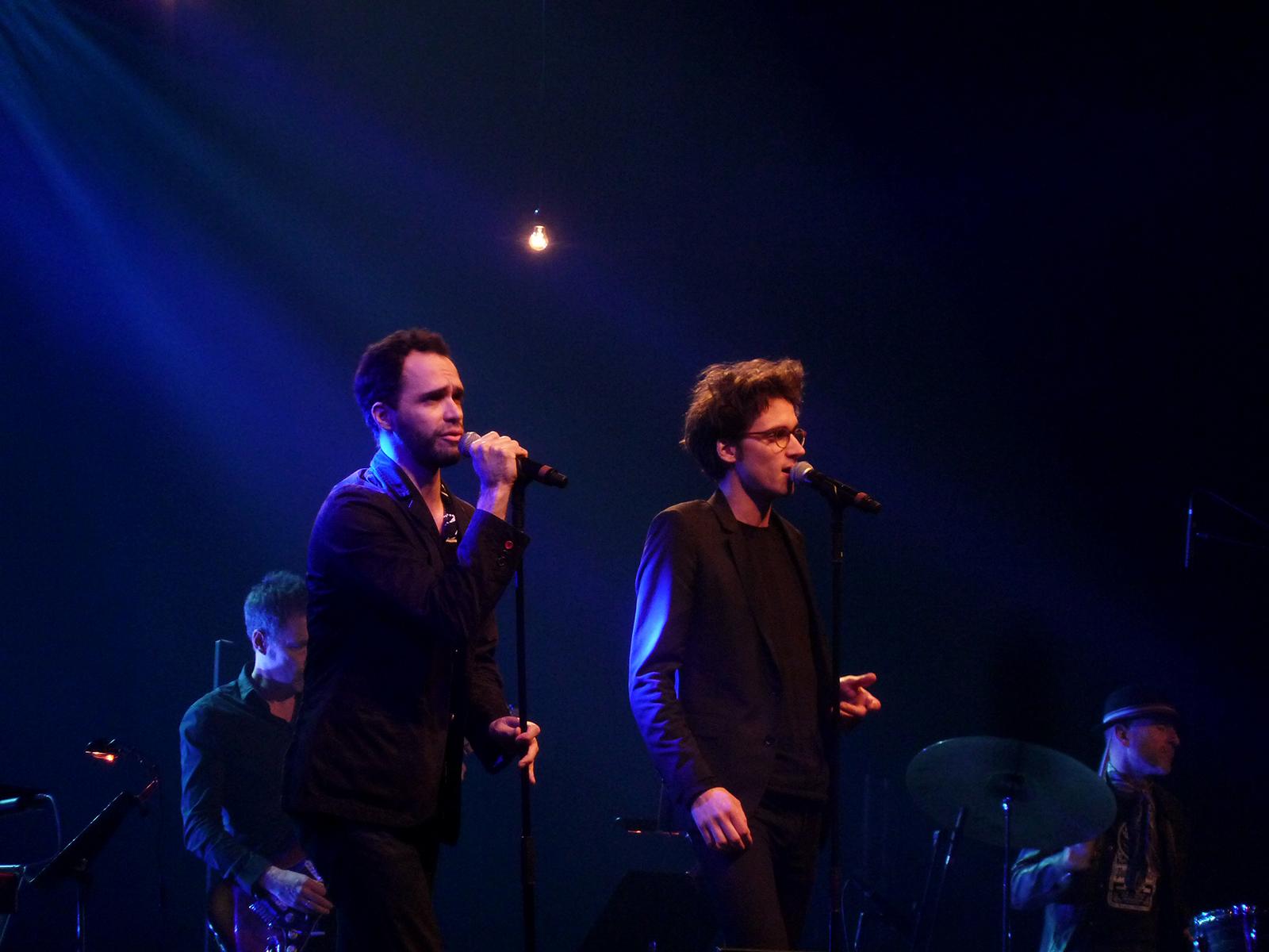 Nosfell et Pierre (Radio Elvis
