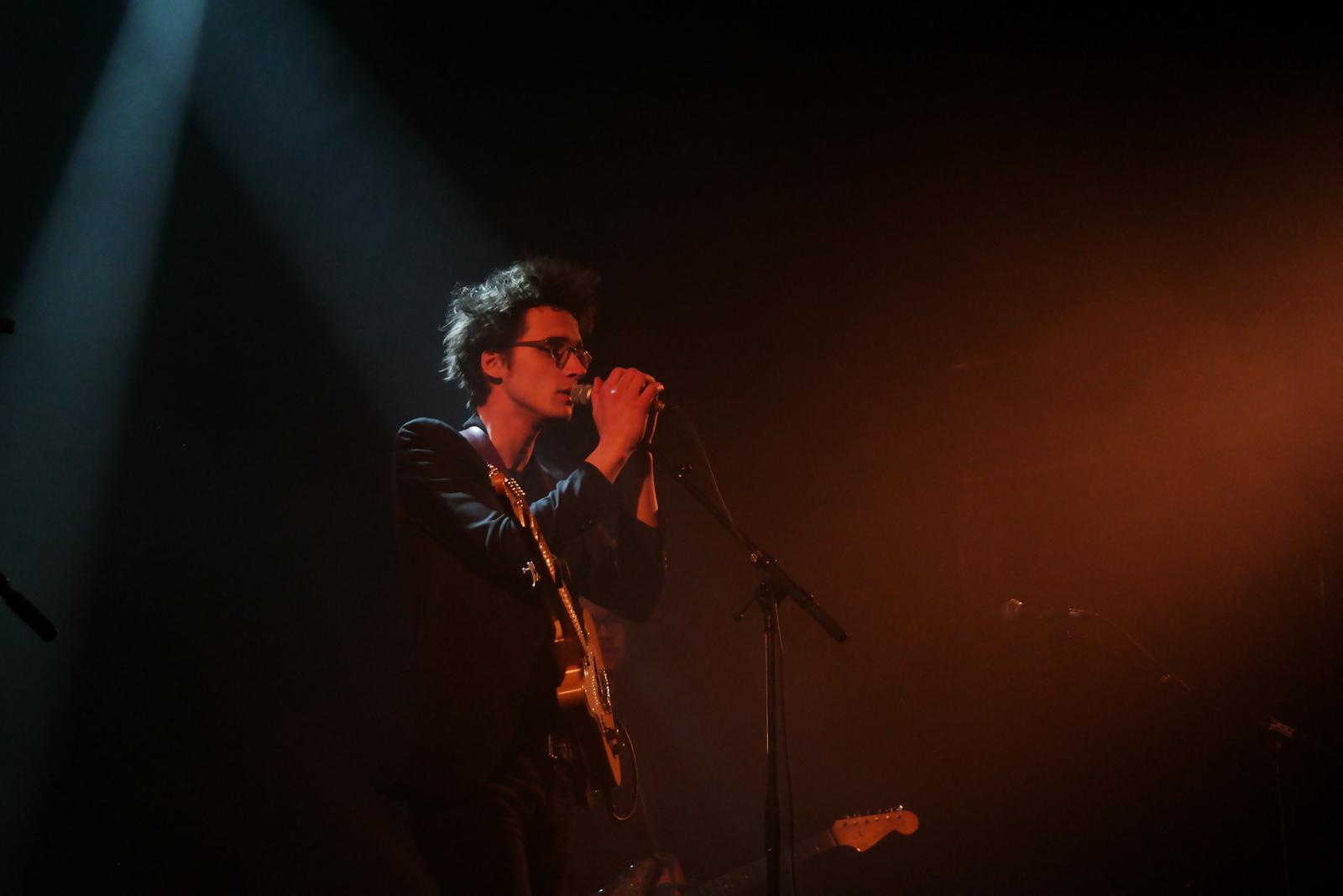 Pierre Guénard groupe Radio Elvis live concert Printemps de Bourges 2016 festival musique les inouis album Les Conquêtes photo scène usofparis blog