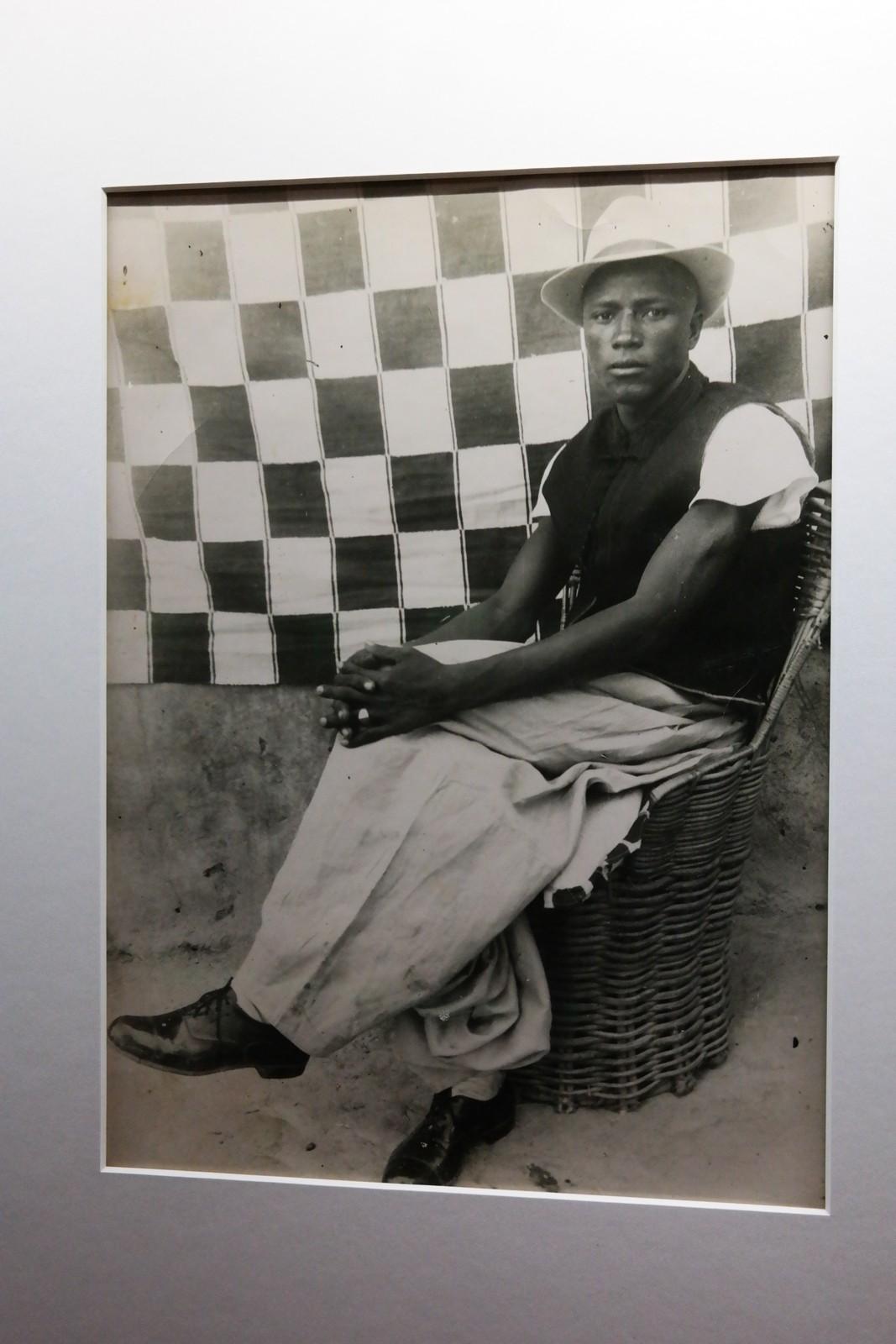 sans titre, 1953-1954, tirage argentique d'époque, collection privée