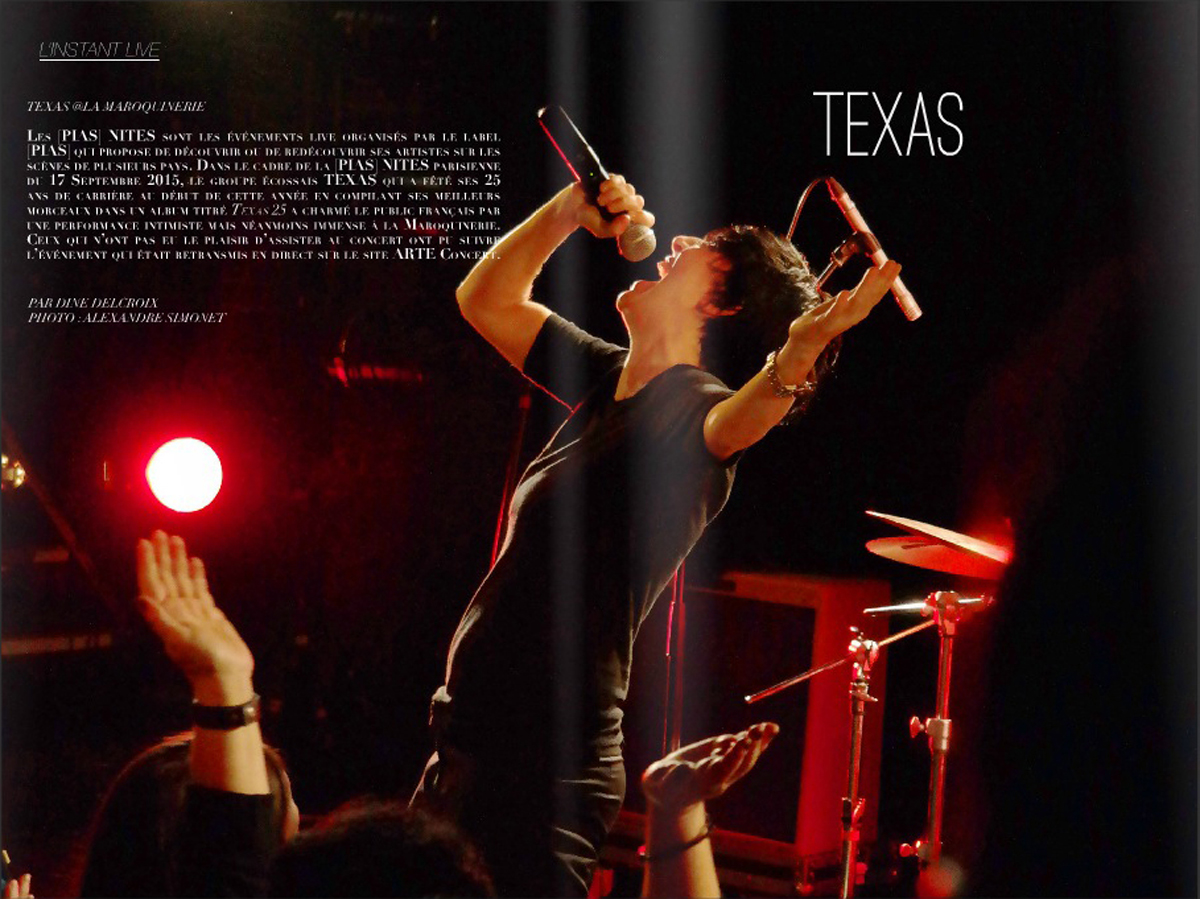 Texas Blind magazine musique live concert photo by Unied States of Paris