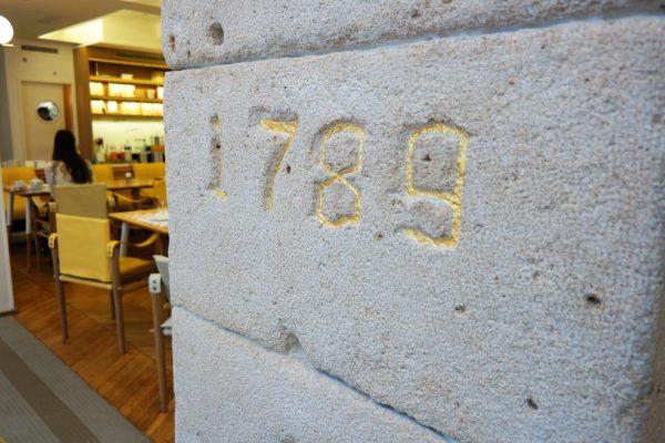 34B Hotel astotel paris 34 rue Bergere 75009 bastille day stone in the wall french design booking photo usofparis blog