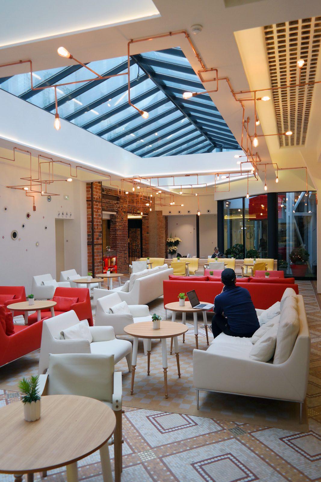 34B Hotel astotel paris 34 rue Bergere lobby breakfast french design booking photo usofparis blog