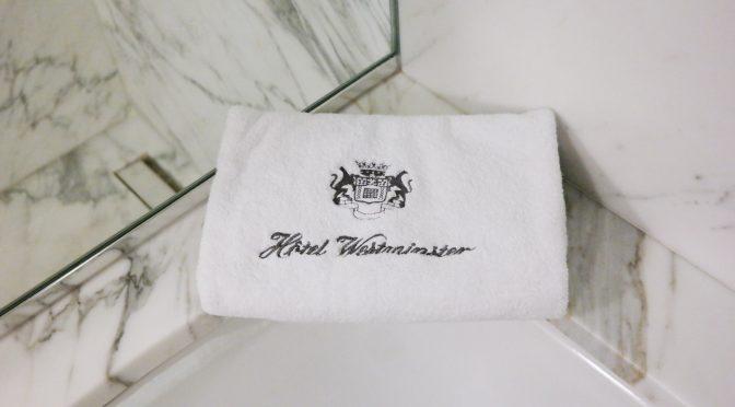 Hôtel Westminster : Cocktail Signature, du sur-mesure dans sa chambre