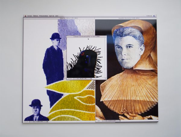 Magritte en Marguerite - Raymond Hains, 199