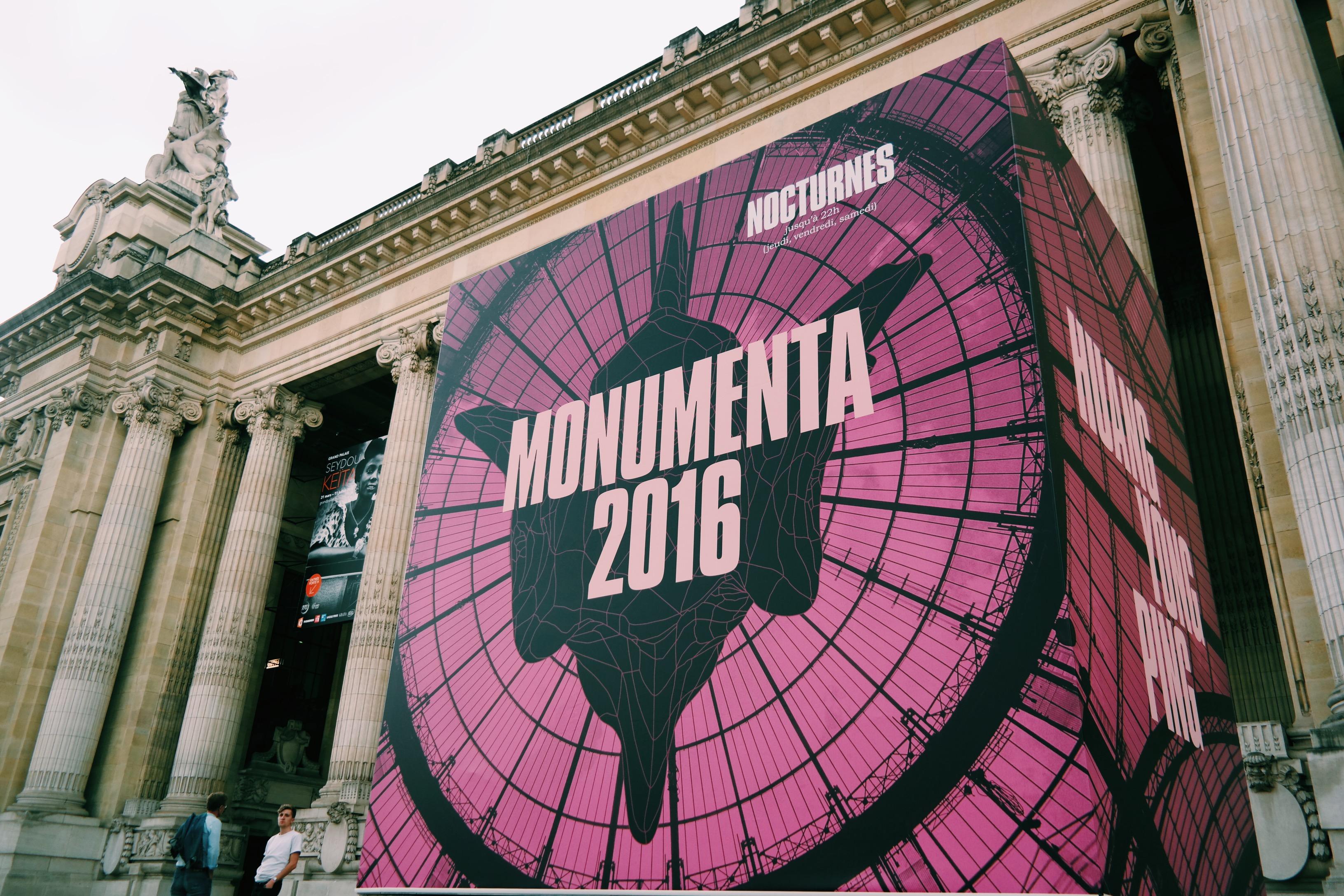 Monumenta-2016-Empires-Huang-Yong-Ping-Grand-Palais-Paris-affiche-entrée-Nef-Kamel-Mennour-photo-usofparis-blog