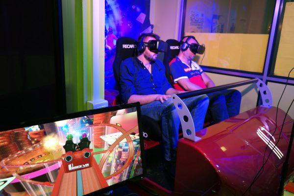 Partouche vr roller blaster Virtual reality Réalité virtuelle pasino casino oculus rift expérience divertissement shamboultoo photo by blog United states of Paris