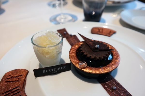 Instant Chocolat dessert création bryan esposito avis critique restaurant céladon hotel westminster bucherer photo blog United States of Paris