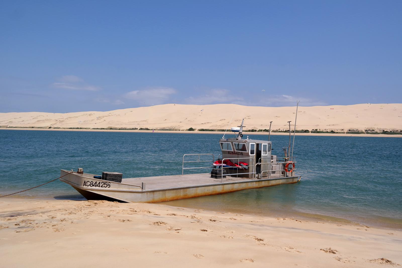 Bateau Eole Eric Daugès ostréiculteur Bassin d Arcachon Dune du Pyla tourisme vacances expérience sortie à la marée photo usofparis blog