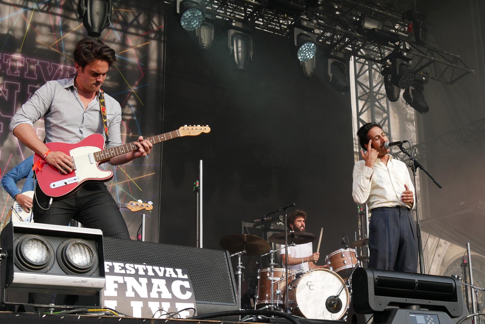 Feu chatterton Fnac live 2016 festival été scène concert musique photo by blog united states of paris
