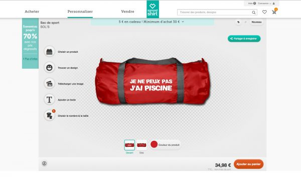 Tshirt fun personnalisé avis Threadless spreadshirt création vote choix TV originaux blog united states of paris