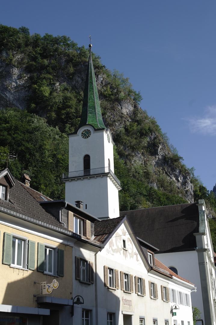 Hohenems Pfarrkirche St. Karl Borromäus Vorarlberg autriche voyage vacances Alpes autrichiennes photo Joël Clergiot UsofParis travel Blog