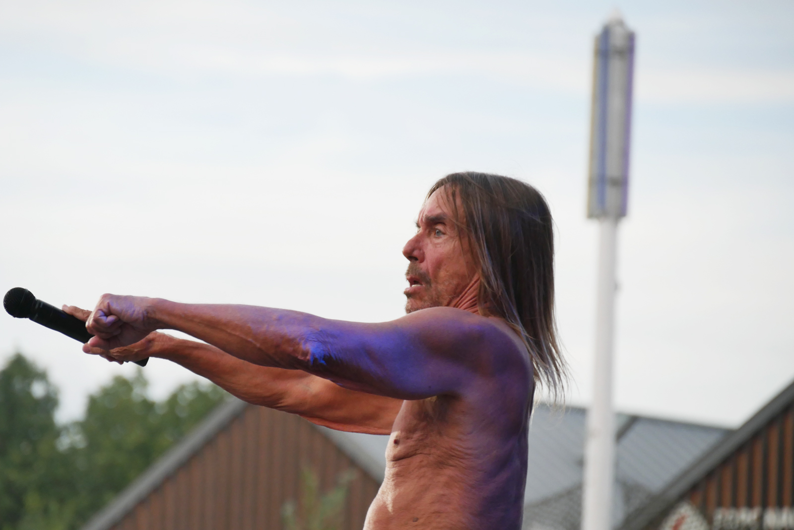 Iggy Pop live concert Rock en Seine 2016 festival paris stage photo usofparis blog