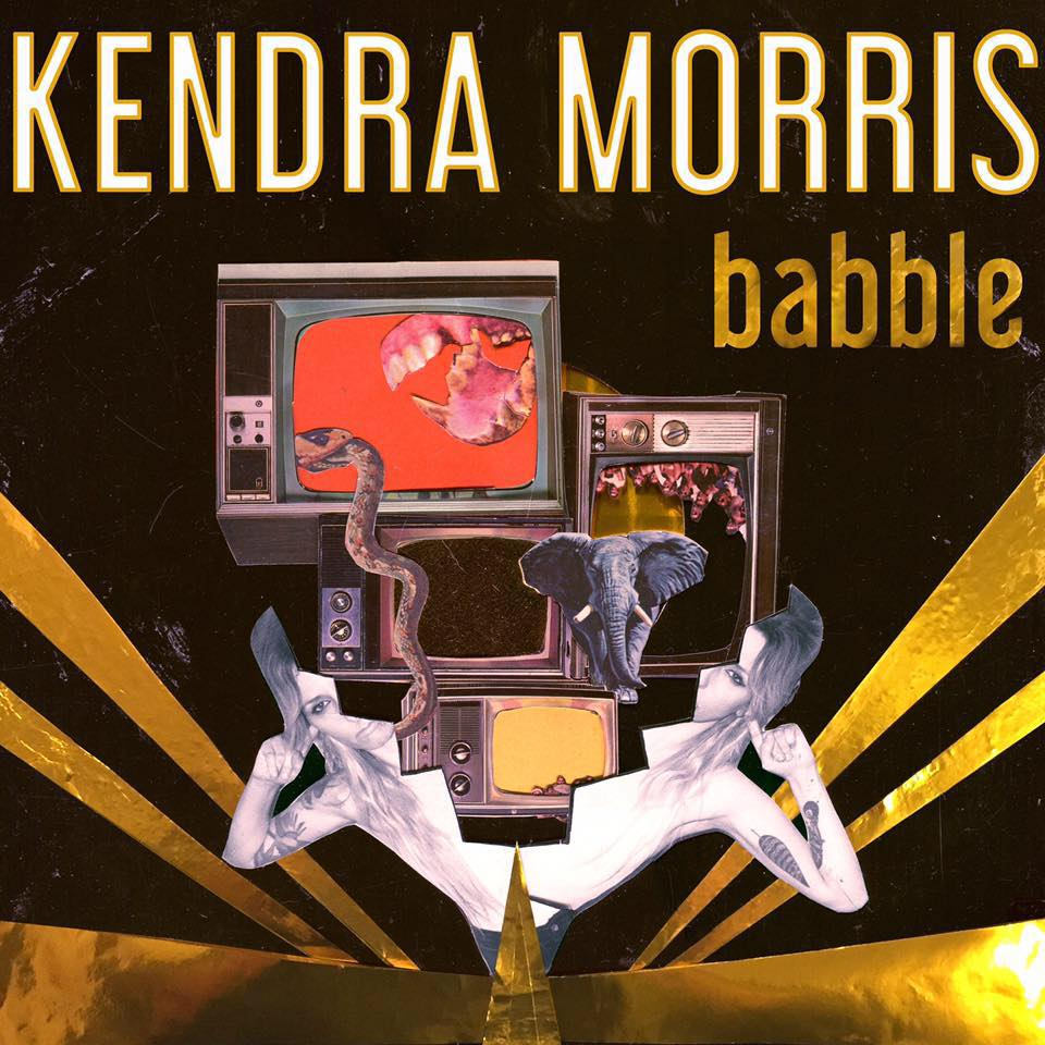 Kendra Morris Babble EP cover woman avalanche album Boombow Amerika