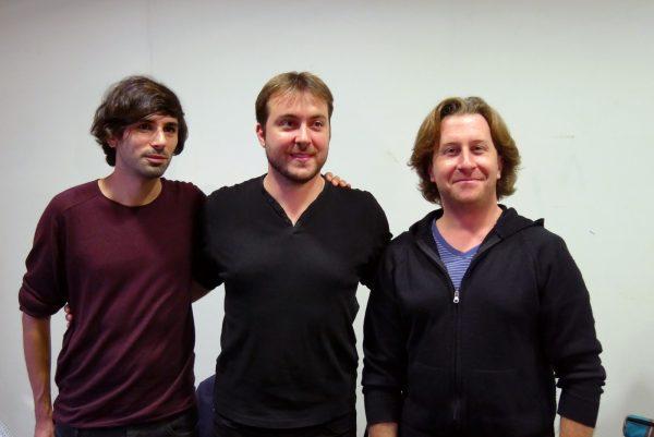 Nicolas Engel (à gauche)