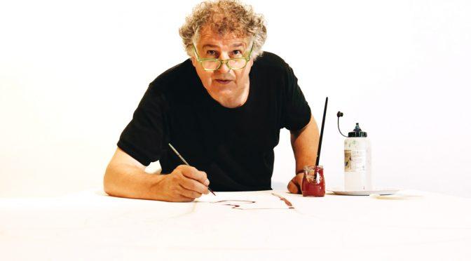 Ivan Messac : 20 jours pour un tableau au Centre Pompidou