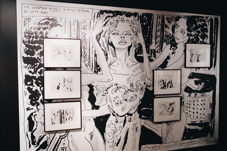 Les-Muses-de-Joann-Sfar-Salvador-Dali-exposition-une-seconde-avant-l-éveil-fin-de-parenthèse-Espace-Dali-Paris-Montmartre-photo-usofparis