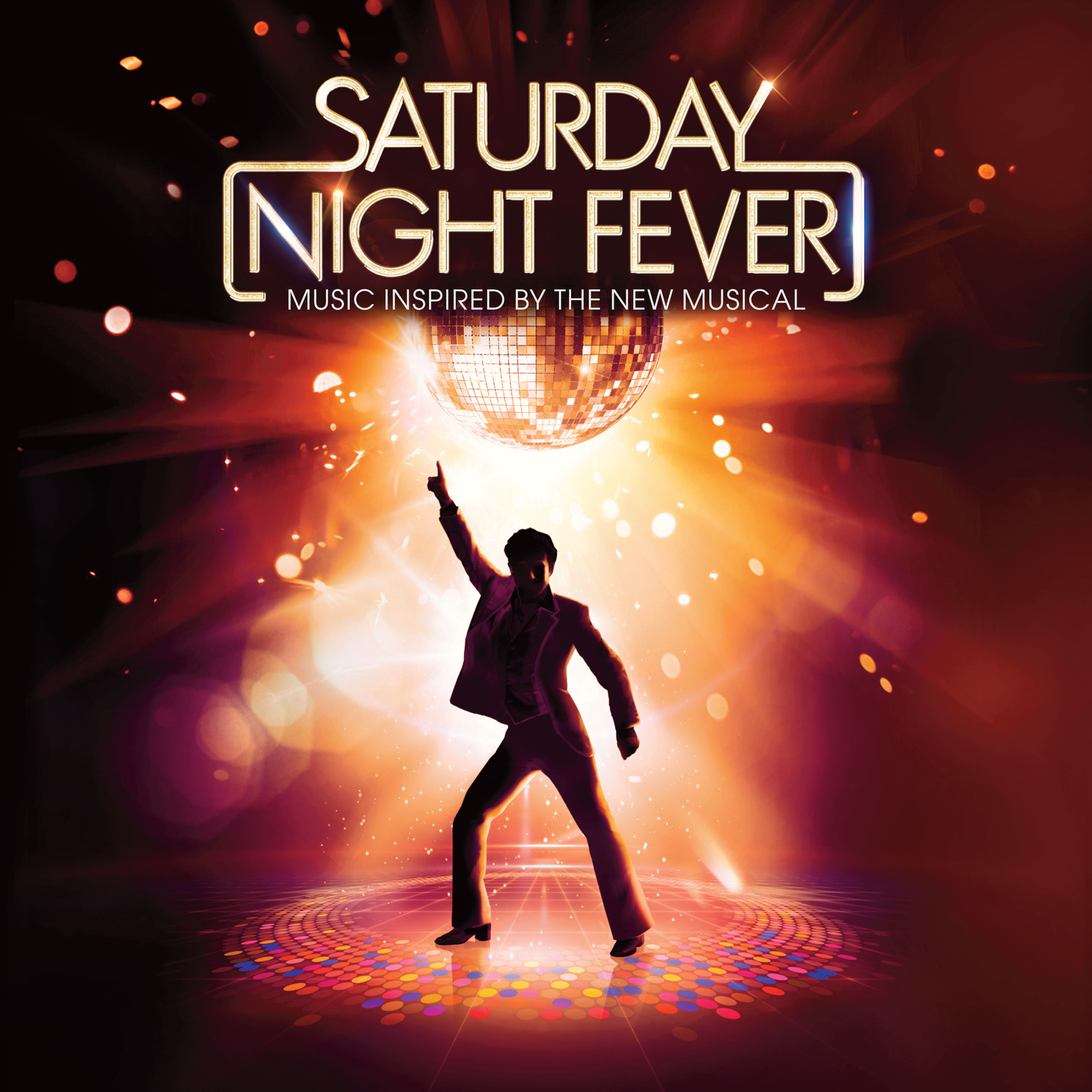 saturday-night-fever-le-spectacle-musical-album-tribute-couverture-kylie-minogue-stayin-alive-julian-perretta-wea-warner-music