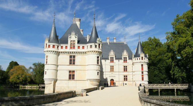 Château d'Azay-le-Rideau : choc d'une renaissance