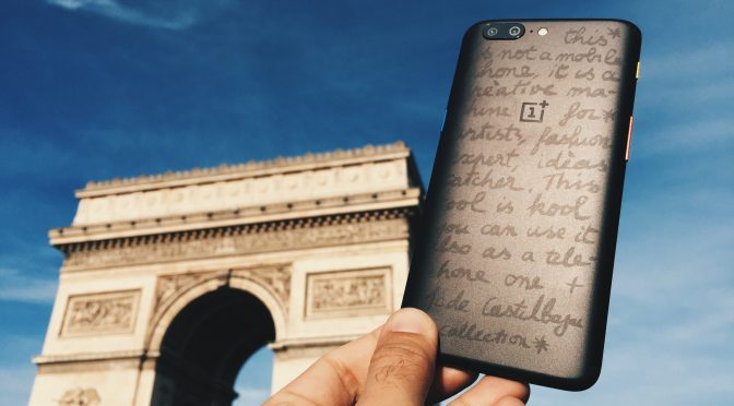 OnePlus 5 by Castelbajac : une callection performante !