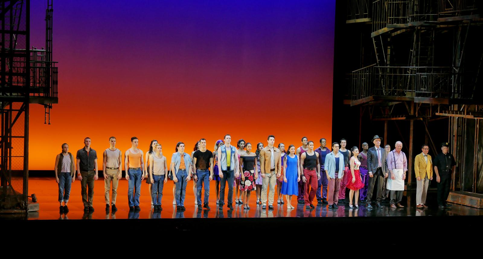 West side story intense beau moderne passionnel - Programme la seine musicale ...