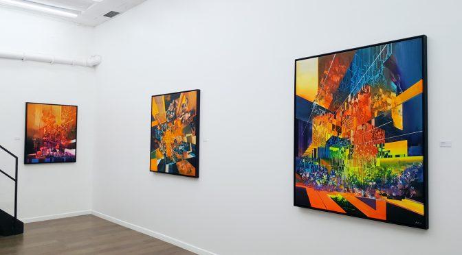 Robert Proch @ Galerie Openspace : notre communication virtuelle torturée