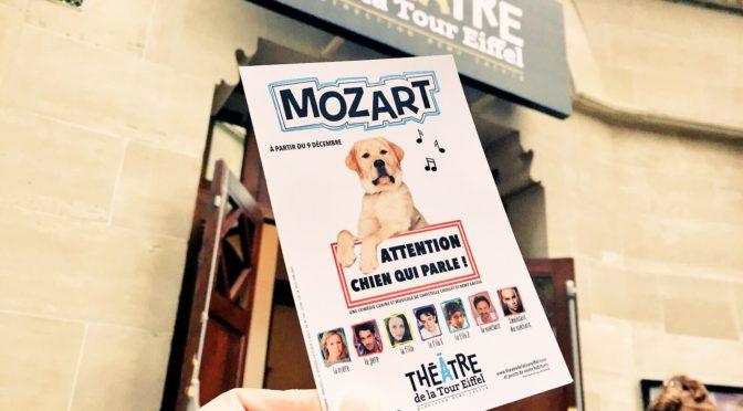 Mozart le chien qui parle : comédie musicale surprenante