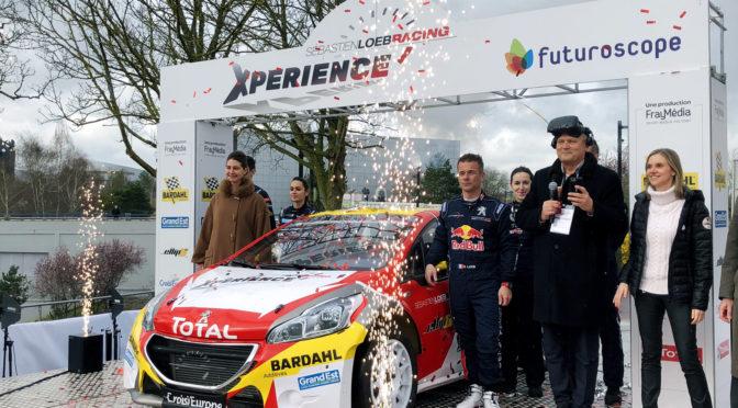 Sébastien Loeb Racing Xperience : le défi fou du Futuroscope