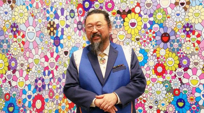 Takashi Murakami, éclat de la Fondation Louis Vuitton, en interview