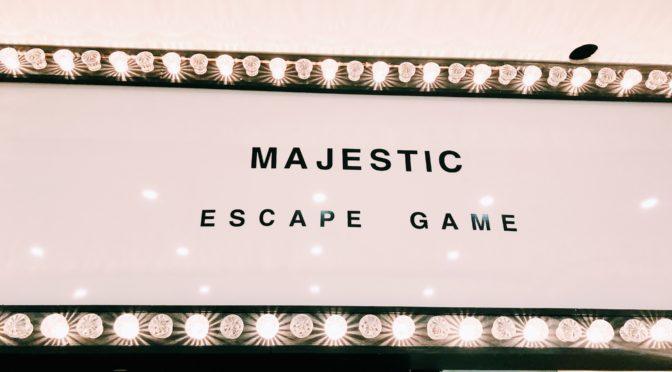 Majestic t'envoie couler avec le Titanic ! #grisant #escapegame
