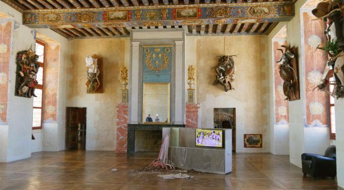 Déclassement au Château d'Oiron : expo insolite et cosmopolite