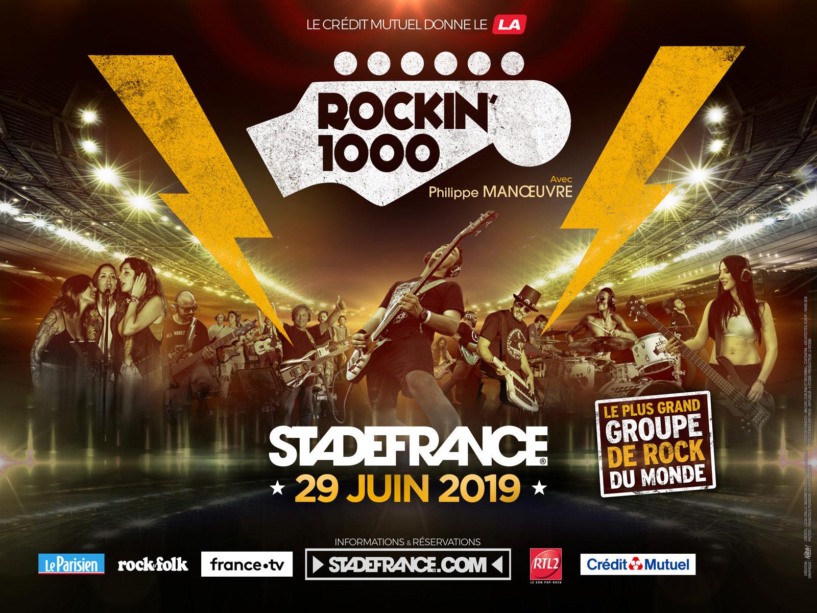 Rockin'1000 Stade de France