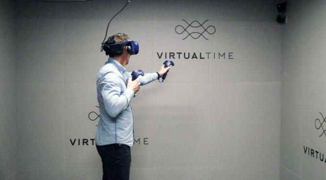 VirtualTime : spot VR pour un max de sensations à Aéroville