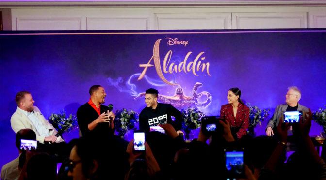 Aladdin de Guy Ritchie : rencontre avec l'équipe du film