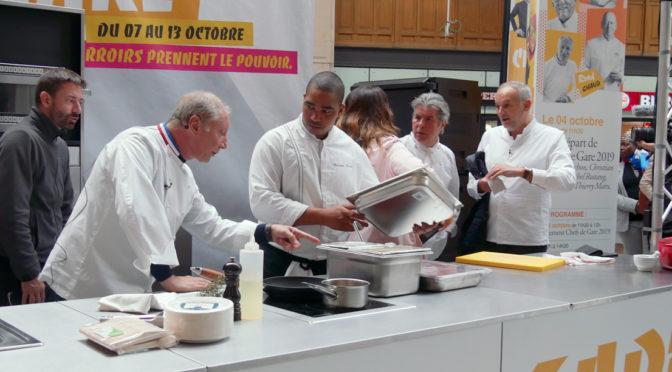 Chefs de Gare 2019 : lancement gourmand @ Gare Saint Lazare