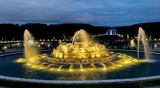 Un samedi soir à Versailles : entre danse et magie des Grandes eaux nocturnes